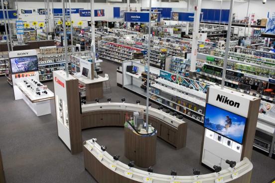 Best Buy Camera Experience Shop Aerial