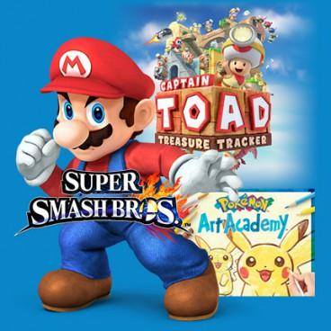Nintendo Family Demo Art