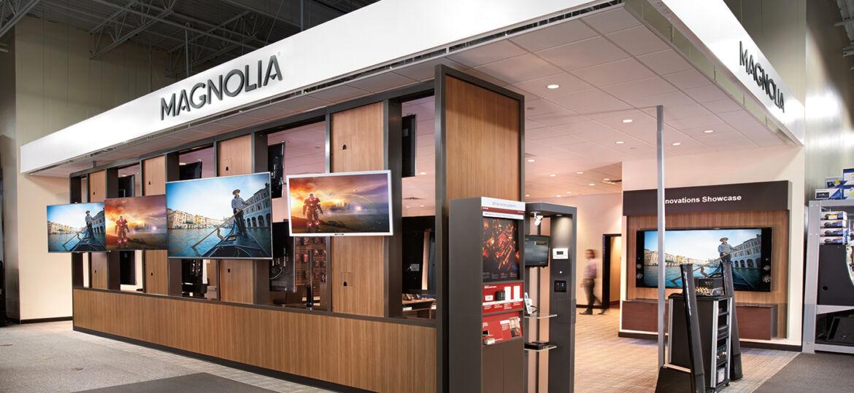Magnolia Design Center Entry