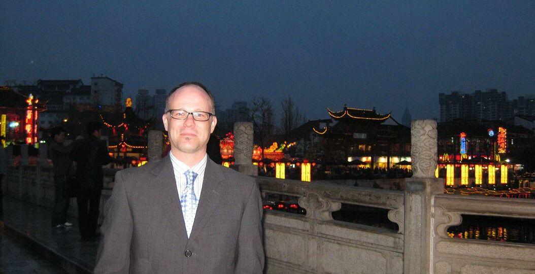 Hamlin in Nanjing Confucius Temple