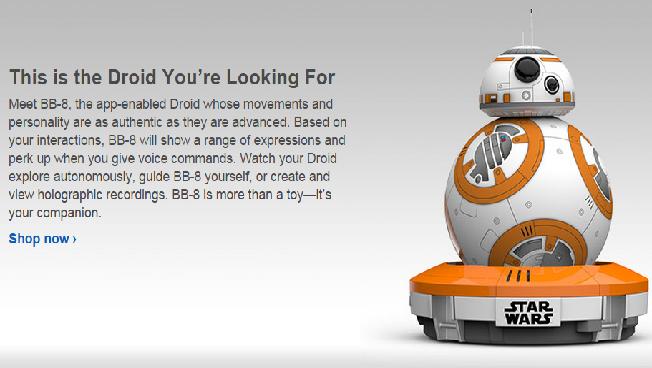 Sphero BB-8 Force Awakens
