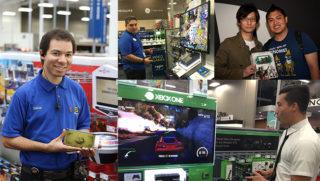 Best Buy E3 Blue Shirts