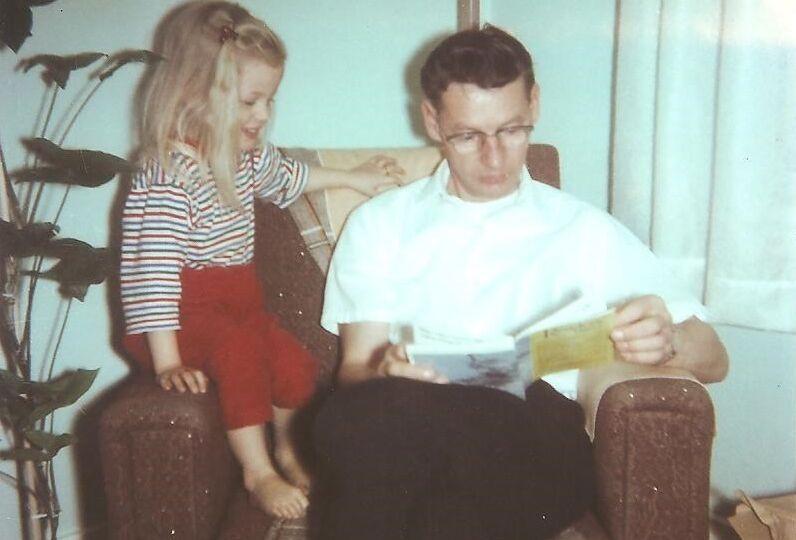 Clarissa and dad