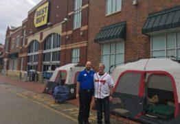 Best Buy - camping