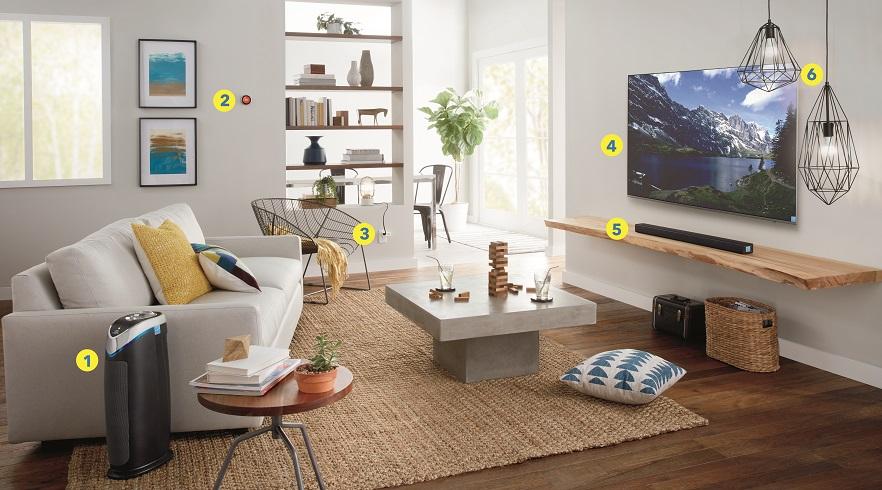 Best Buy - living room