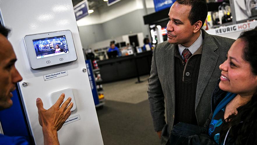 Best Buy, Vivint Partner to Launch Smart Home Service - Best Buy
