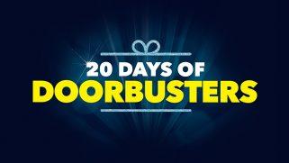 20 Days of Doorbusters