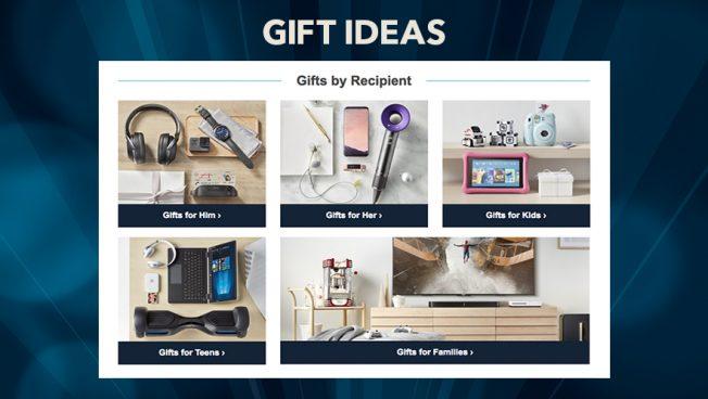 Best Buy - gift center