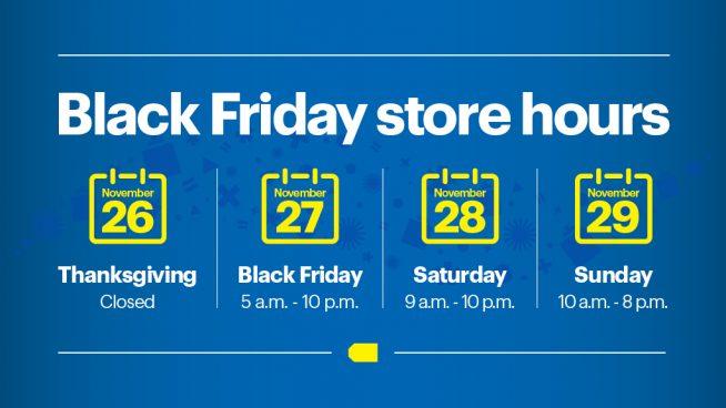 Black Friday Starts Sunday Nov 22 Best Buy Corporate News And Informationbest Buy Corporate News And Information