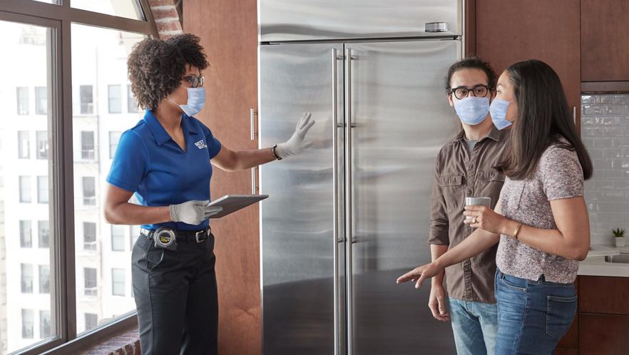 FY21_Safety_PPE_BlueShirt_IHC_Condo_Kitchen_Consultation